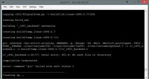 weasyprint-install-error